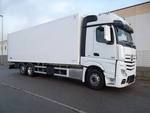 Mercedes New Actros 1